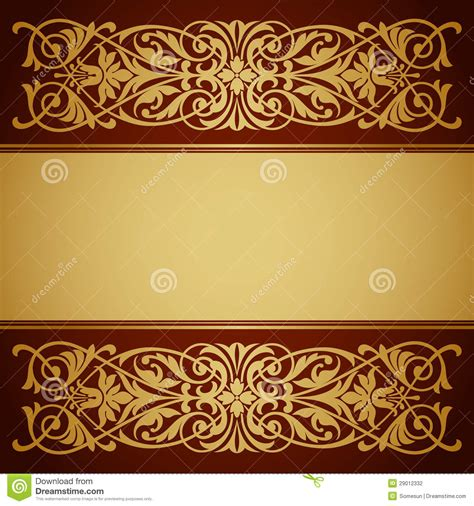 Rd Arabic Bordir 11 gold vintage border designs images vintage gold