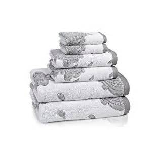 grey and white bath towels kassatex roma collection towel set with bath