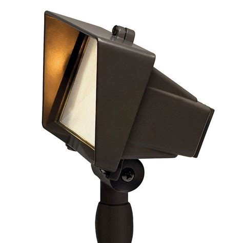 hinkley landscape lighting parts hinkley lighting low voltage 50 watt bronze outdoor flood