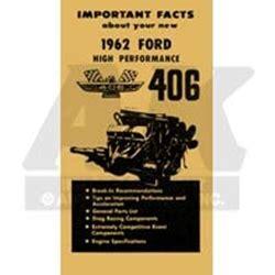 supplement k ford owner s manual 406 hi po supplement 62 ford