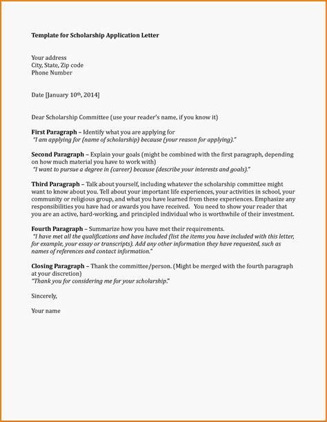 application letter for study bursary 7 letter for scholarship application sle receipts