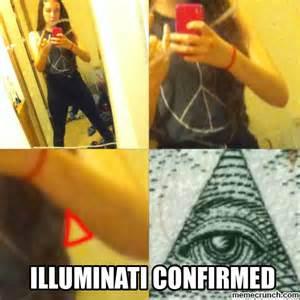 Pin confirmed illuminati meme on pinterest