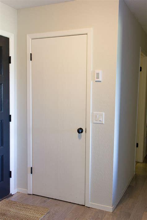 Hollow Doors by Remodelaholic 5 Panel Door From A Flat Hollow Door