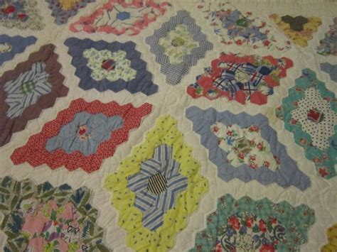 Grandmother S Flower Garden Quilt Pattern Grandmother S Flower Garden Quilt Free Quilt Patterns