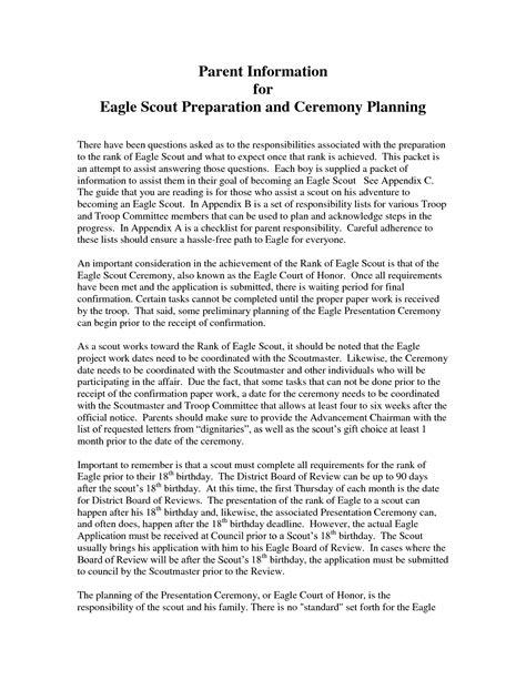 eagle scout letter of recommendation parents letter of recommendation for eagle scout 9 facts 1193
