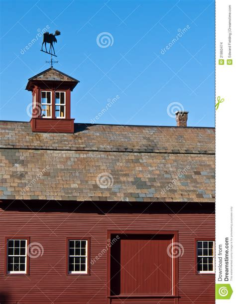 Cupola Prices Barn With Slate Roof And Cupola Stock Images Image