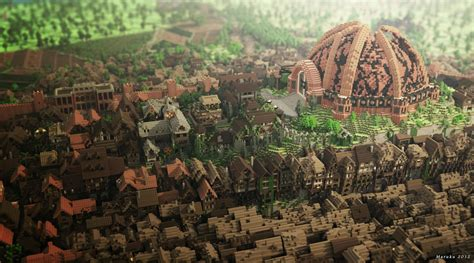 king s landing king s landing from of thrones minecraft style