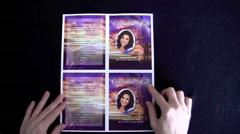 Memorial Card Design Templates by Free Obituary Template Shatterlion Info