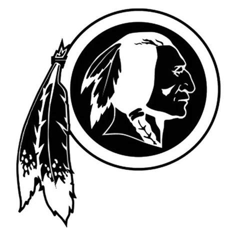 high quality washington redskins logo silhouette