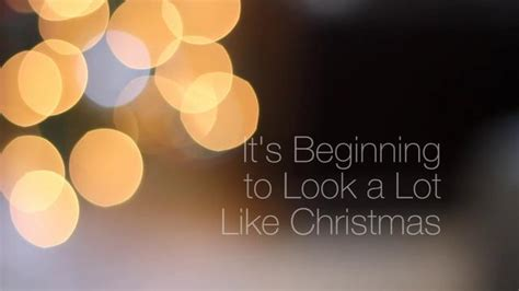 its beginning to look a lot like christmas chords it s beginning to look a lot like christmas on vimeo