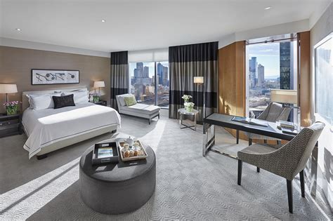 studio rooms luxury melbourne accommodation crown towers melbourne