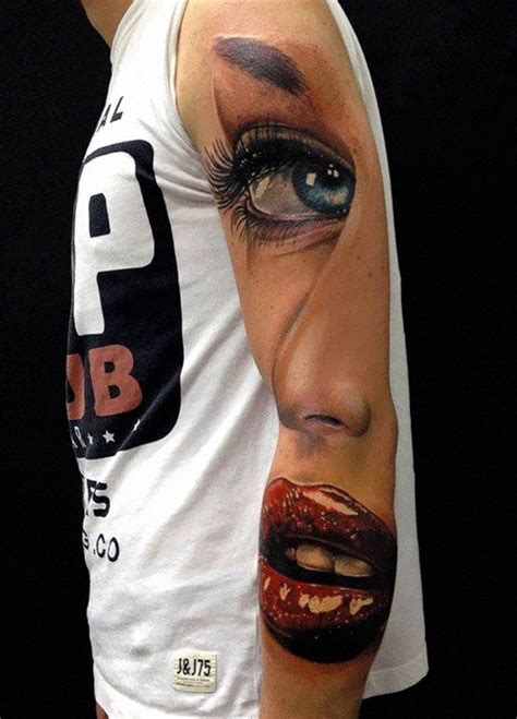 Tattoo 3d Brazo | 63 3d tattoos that are so cool you need a jacket to watch