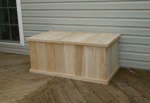 Patio In A Box Classic 3ft White Cedar Deck Box 16152 16133