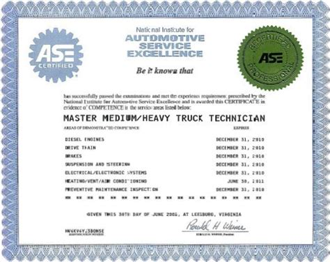 ase certificate template 28 ase certificate template ase certified master