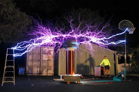 Tesla Free Electricity From The Air Airborne Energy Tesla Coil The Future Of Energy