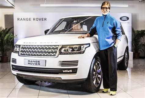 amitabh bachchan gets a brand new range rover malayalam live