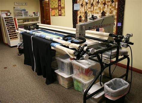 How Does A Arm Quilting Machine Work by Quilt Shop Minnesota Prairie Roots