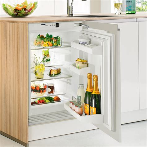 under bench refrigerator liebherr uik 1620 integrated under bench fridge designed kitchen appliancesdesigned