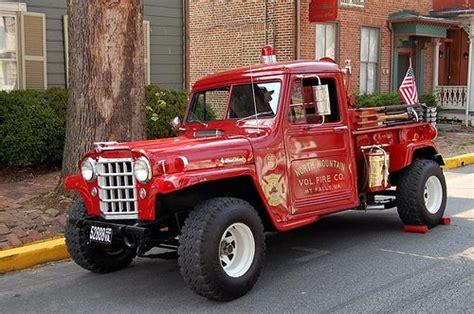 jeep brush truck north mountain volunteer fire dept mt falls va jeep