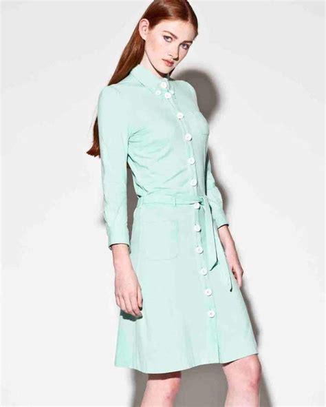 green jersey knit dress moschino mint green jersey knit button up shirt dress at