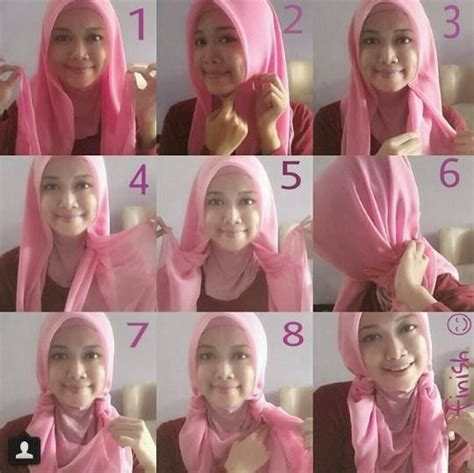 Kreasi Kerudung Segi Empat kreasi cara memakai jilbab segi empat terbaru pharmacist