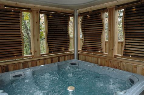 hot tub privacy curtains 17 best images about deck sunroom hot tub on pinterest