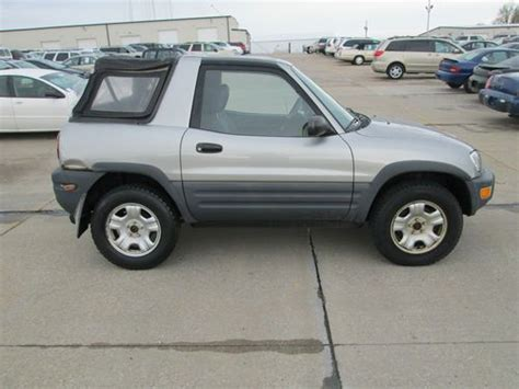 Toyota Rav4 2dr For Sale Purchase Used Toyota Rav4 4x4 Awd 4cyl Auto 2 Door Soft