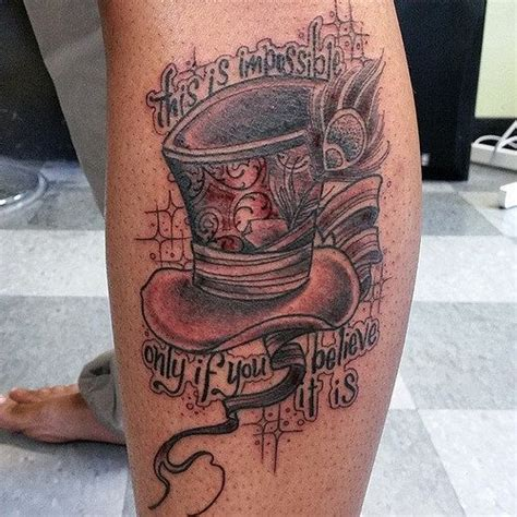 madhatter tophat tattoo tattoo tattoo designs and