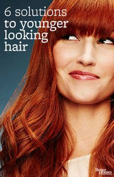5 hairstyle tips to look younger mary calvi cbs news dedbra pinterest hair coloring
