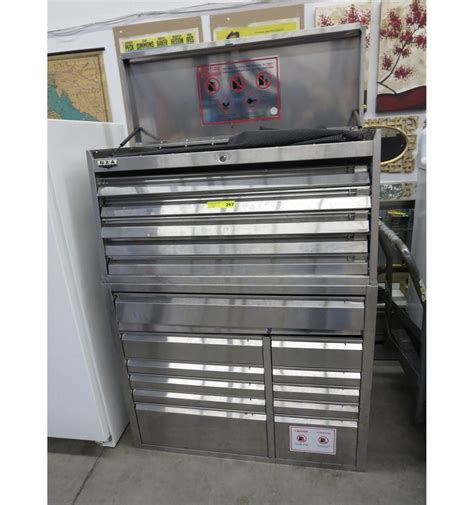 Large Tool Cabinet by Nxa Steel Large Tool Cabinet Chest