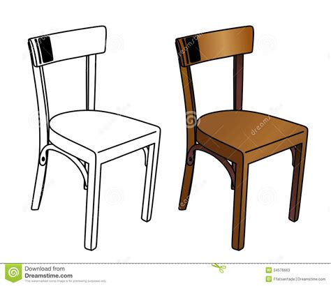 Chair Illustration by Stuhl0 223 209a