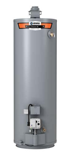 high efficiency gas water heater 40 gallon proline 174 xe high efficiency non condensing flue der 40