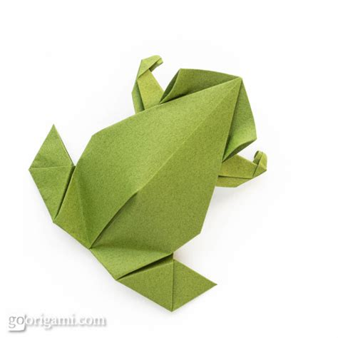 Easy Origami Frogs - pre columbian style origami frog by leyla torres go origami