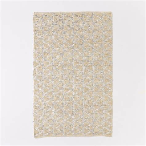 shimmer rugs shimmer jute rug west elm