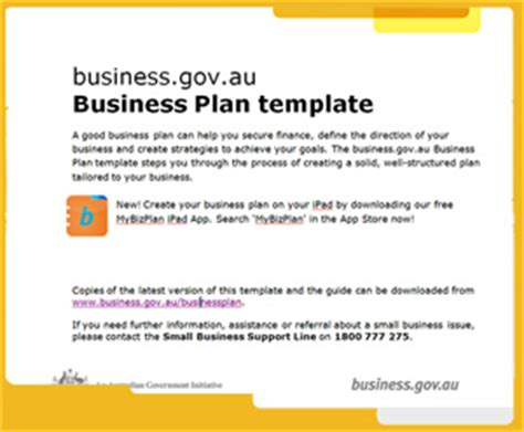 business plan template australia plan template