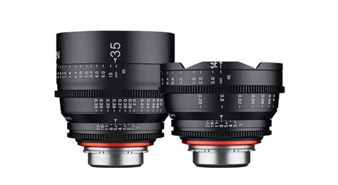 Samyang For Sony Xeen 14mm T3 1 gear xeen by rokinon 14mm t3 1 and 35mm t1 5
