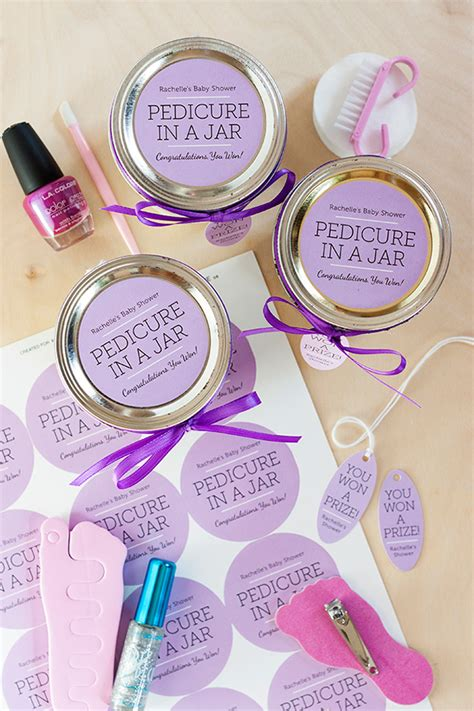 Manicure Spelletjes by Pedicure In A Jar Baby Shower Prizes Shower Prizes And