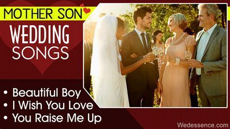 Mother Son Wedding Songs