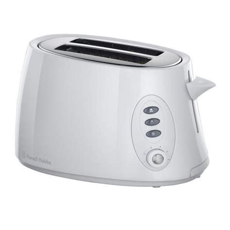 Small White Toaster Hobbs 18025 2 Slice Stylis Compact Toaster In