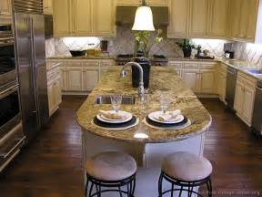 kitchen island granite countertop pictures of kitchens traditional off white antique