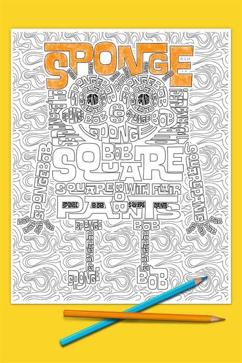 nickelodeon coloring book spongebob coloring page nickelodeon parents