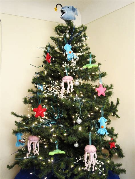 deep sea christmas tree ornaments totally stitchin