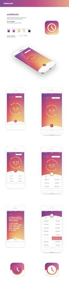 modern clock for ios family calendar ios app concept on behance ios ui ux