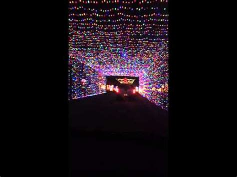christmas prairie lights tunnel of lights at joe pool lake