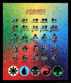 magic color combinations magic the gathering color combos by kwsapphire on deviantart