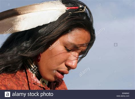 free mative american braids for hair photos a native american indian in south dakota with a eagle