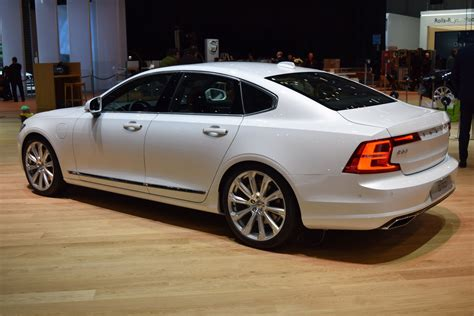 volvo sedan new volvo s90 sedan looking sharp on geneva show floors