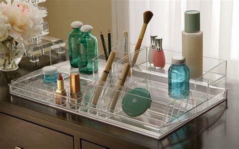 Acrylic Makeup Organizer cosmetic organizer countertop roselawnlutheran