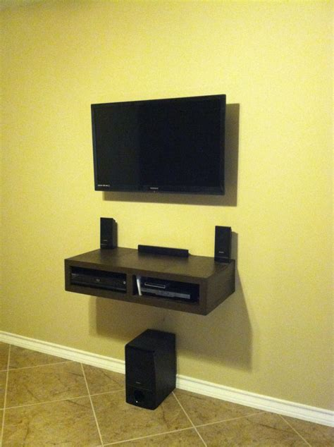floating entertainment center custom entertainment