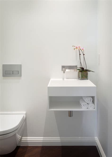 modern bathroom sinks powder room contemporary with